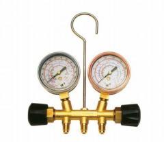 Two Ways Brass Manifold