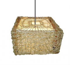 Lamp ceiling square