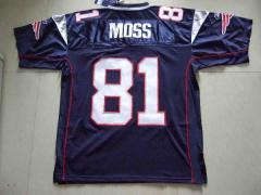 NFL Moss #81 Patriots Jersey T-shirt
