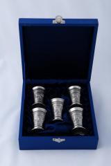 Set of Five Cups (Premium Box)