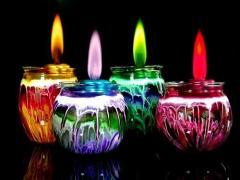 Led decorative candle