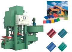 Automatic coloured tile and brick machine