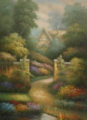 Oil painting (modern landscape)