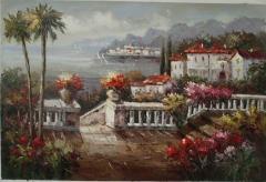 Oil painting (impression landscape)