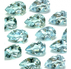 Natural Aquamarine Facet