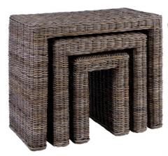 Natural rattan table 2