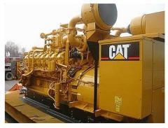 Used CATERPILLAR G3516 Biogas CNG Generator Set 1130 KW