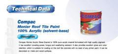 Monier 100% Acrylic Gross Enamel Roof Paint
