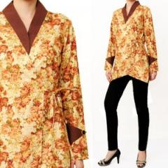 Cotton Kimono  (with gold prints)