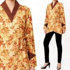 Cotton Kimono (with gold prints)