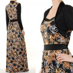 Maxi (Long Sleeves) Dress 1608
