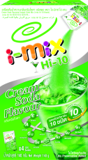 Hi-10 Cream Soda Flavoured Instant Drink Mix