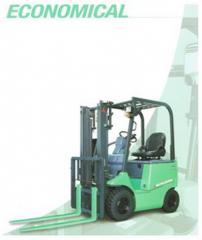 Mitsubishi Forklift 4 Wheel Electric Pneumatic