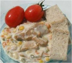 Canned Tuna With Mayonese