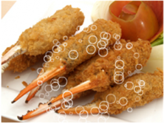 Breaded Crab Claw Finger
