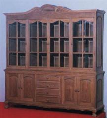 Book Cabinet 2 Pcs 6 doors 4 drawers fw202