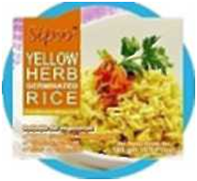 Thai Yellow Herb Fried Germinated Rice