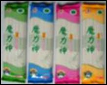 Natural dried konjac noodles