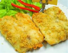 Lemon dill breaded fish