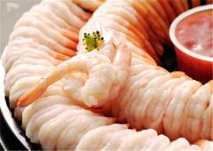 Cooked Shrimp Ring