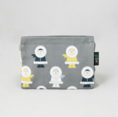 Phillie Cosmetic Case Size L (Eskimo)