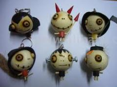 Zombie Key Chains
