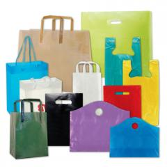 Different sizes and types of  bags