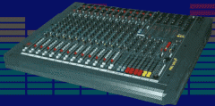 4 Bus Live Mixing Console Pro Live 4 Series