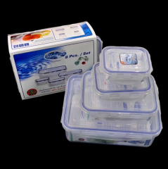 8-Piece Food Container Box Set 6116/8
