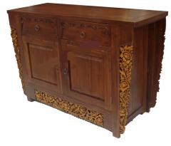 Genuine teak chest of drawers