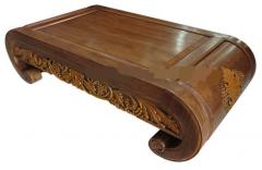 Vine carvings Genuine teak table
