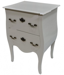 Pure white 2 chest of drawer