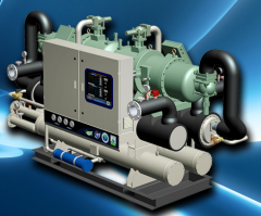 Water Cooled Chiller Series OEW-N Model 30OEW040 to 240-2(R-407c)
