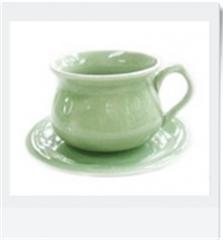 JC-Coffee Cup & Saucer
