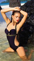 Black swimming suit