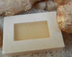 Natural Ginger Herbal Fancy Soap Thailand -