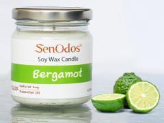 Bergamot Soy Candle 190g /45g