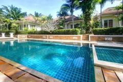 Villa near lagoon