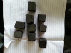 Charcoal cube