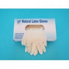 Latex Examination Powder Free Gloves