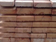 Sawn edged boards kiln dried (coniferous lumber)