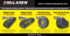 Rubber Track, Rubber Tire, Rubber Pads.