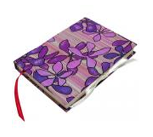 Notebook cover silk