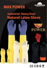 Latex rubber gloves and boots
