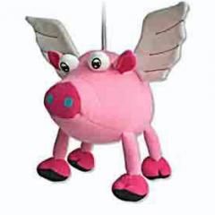 Hanging spring pig soft doll