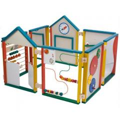 Wooden Play Wall