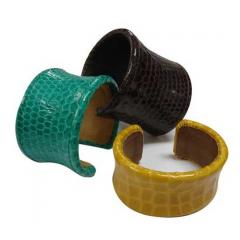 Cow Leather Bangle