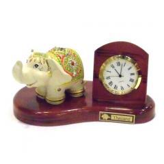 Elephant Analog Clock