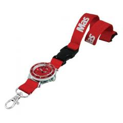 Lanyard With Watch