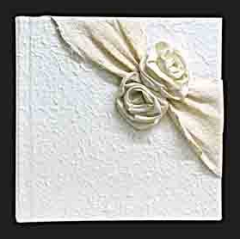 White rose notebook